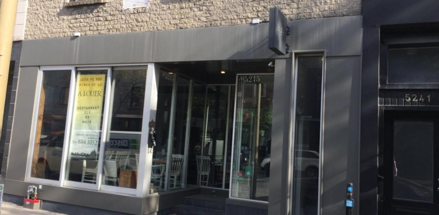 Local louer ca le 1 site d 39 annonces commercial au for Equipement de restaurant montreal